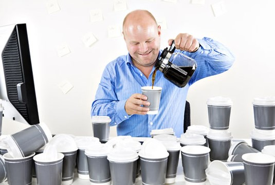 Регулярный прием кофе