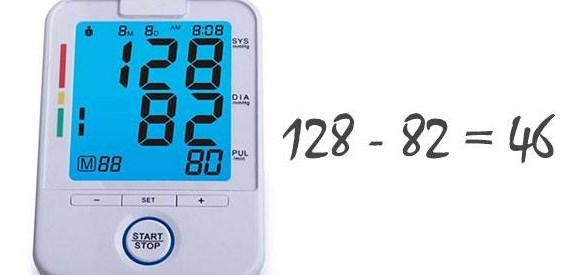 Определение пульсового давления
