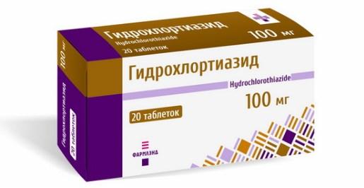 Гидрохлортиазид в таблетках