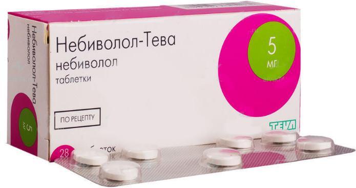 Небиволол в таблетках