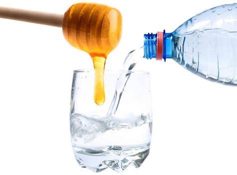 Вода с медом от скачков давления