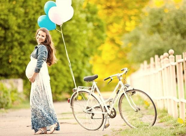 Прогулки беременной на свежем воздухе