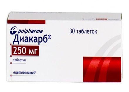 Диакарб при лучевой терапии