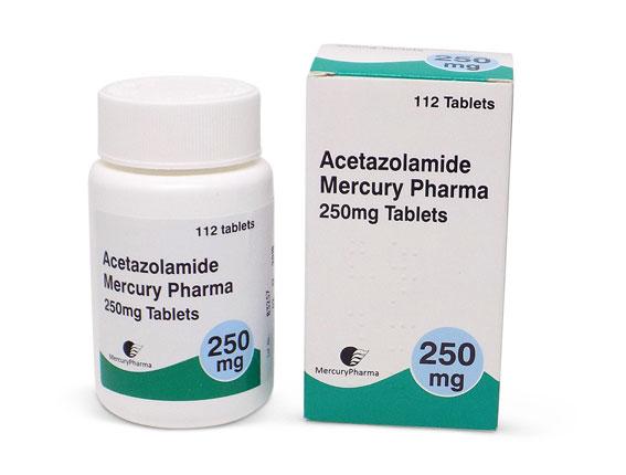 Ацетазоламид аналог диакарба