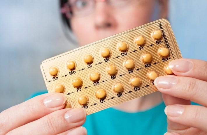 Противозачаточные таблетки повышают давление