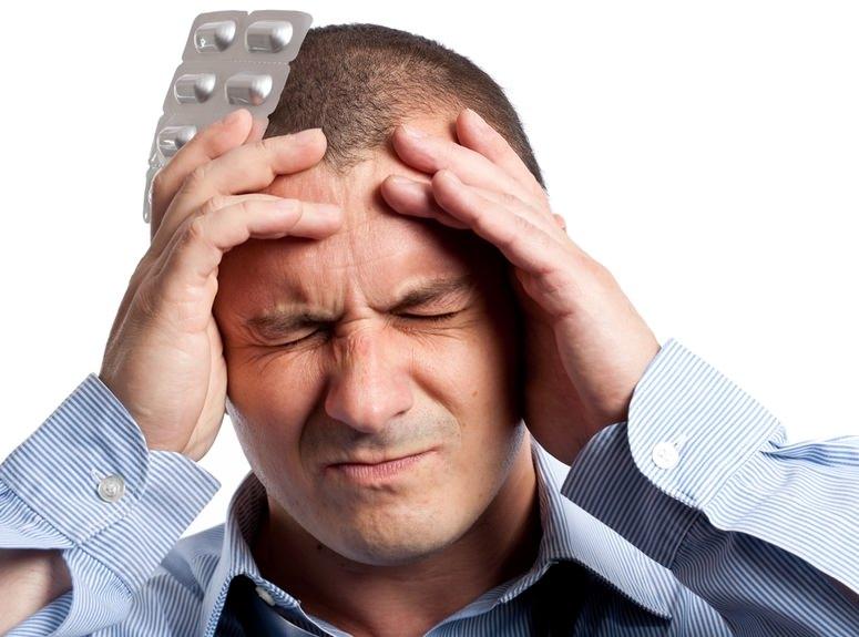 Головная боль при давлении