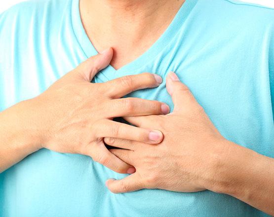 Боли в сердце при давлении