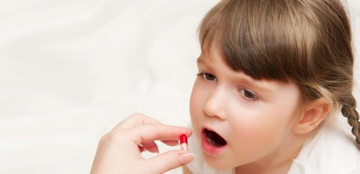 Прием лекарств у детей