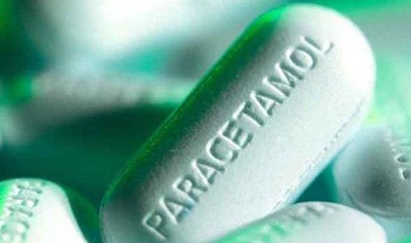 Действующее вещество парацетамол