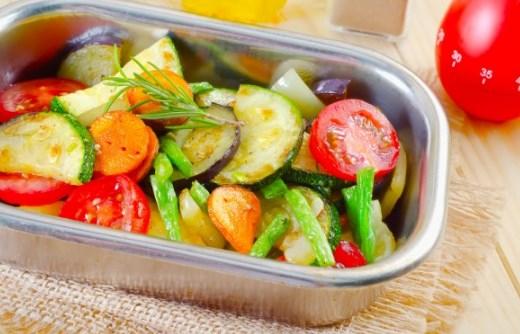 Запеченные овощи при ВЧД