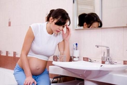 Тошнота во время беременности