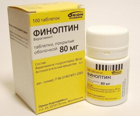 Финоптин в таблетках