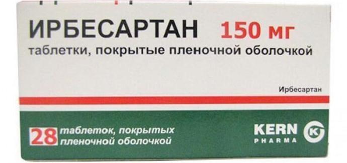 Ирбесартан в таблетках