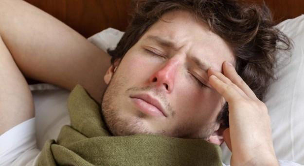 Боль в виске при простуде