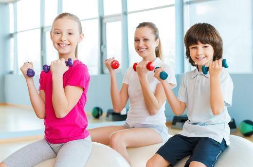 Спортивные нагрузки у детей