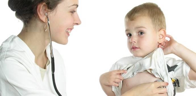 Выслушивание сердца у ребенка