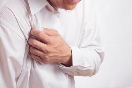 Неприятные ощущения за грудиной