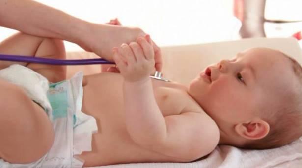 Аускультация сердца у ребенка