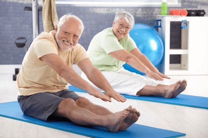 Здоровый образ жизни у пожилых