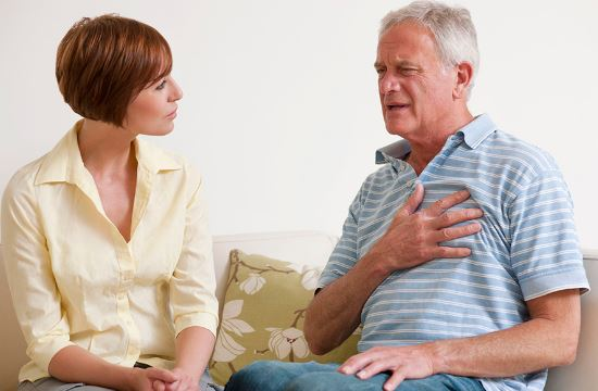 Дискомфорт за грудиной