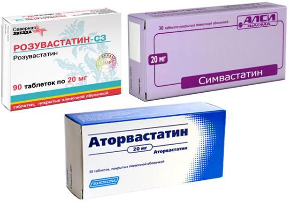 Статины в таблетках