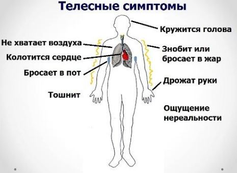 Симптомы приступа ВСД