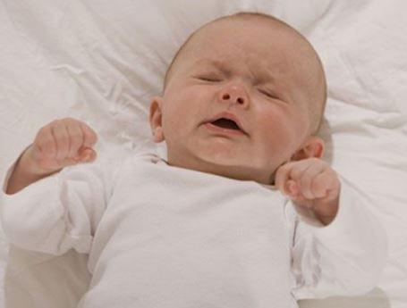 Судороги у младенца