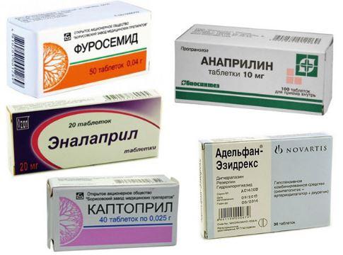 Гипотензивные средства