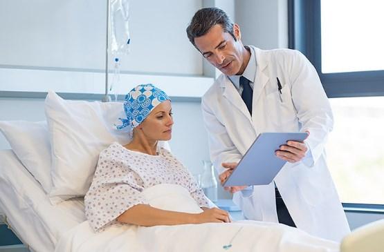 Больной с онкологией